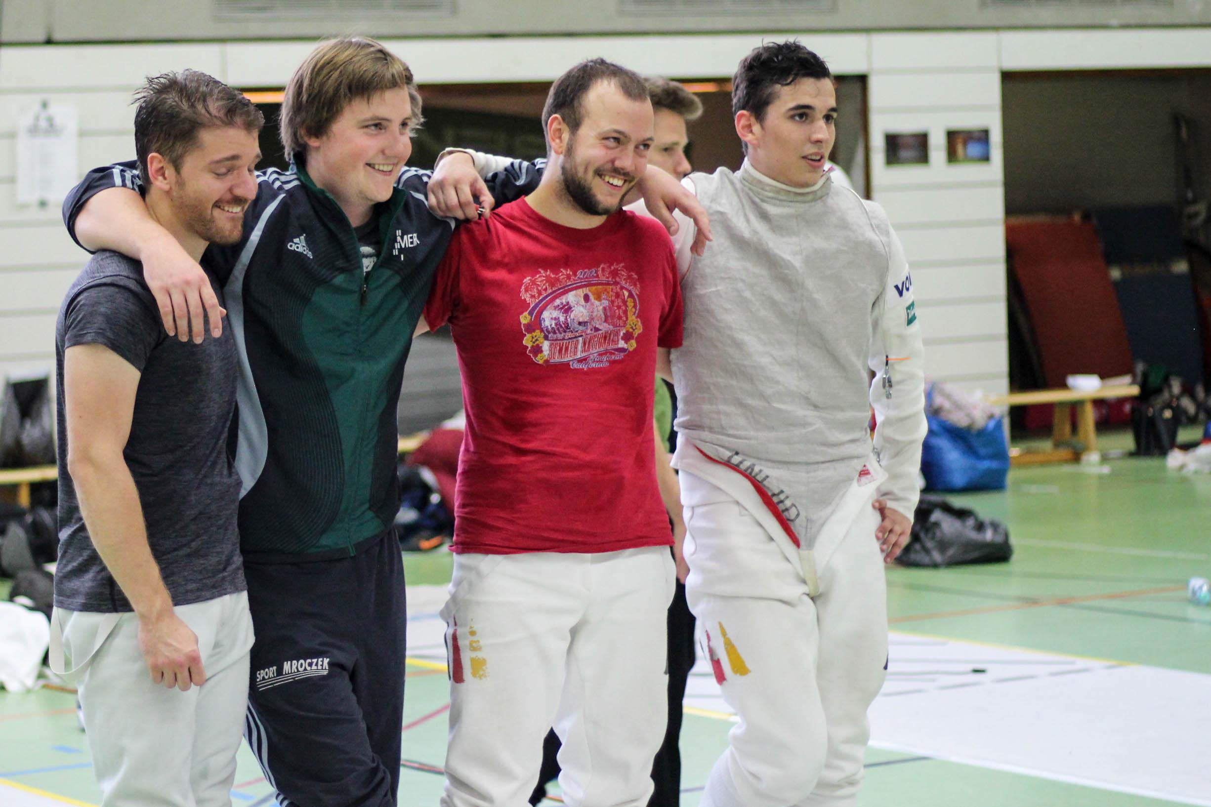 Heidelberg Fechten Florett Mannschaft