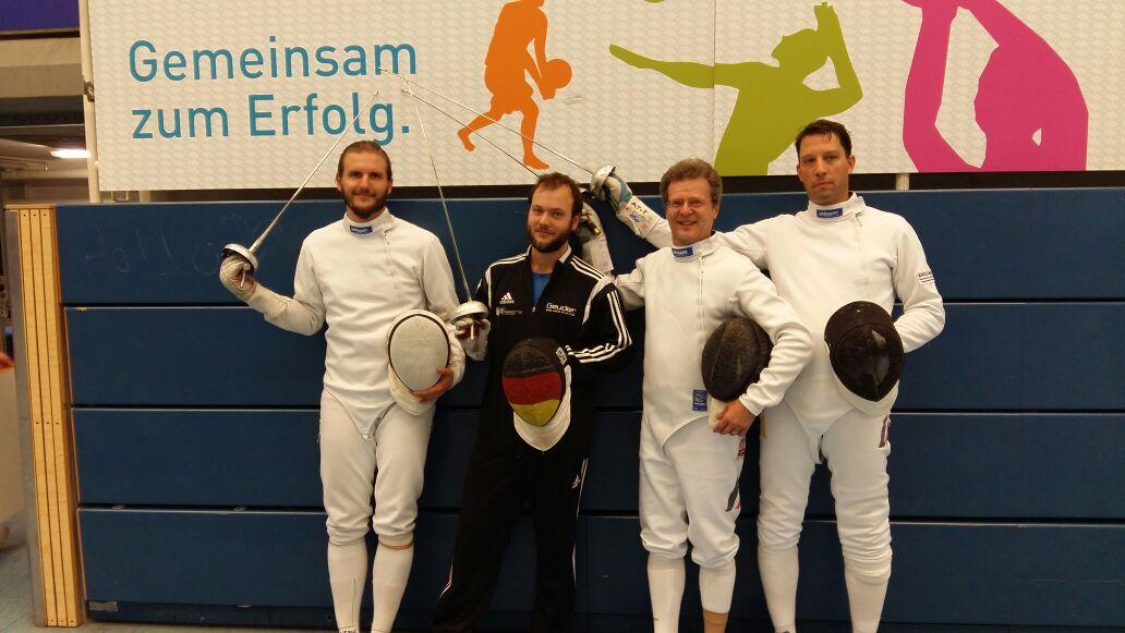 Heidelberg Fechten Deutschland Pokal