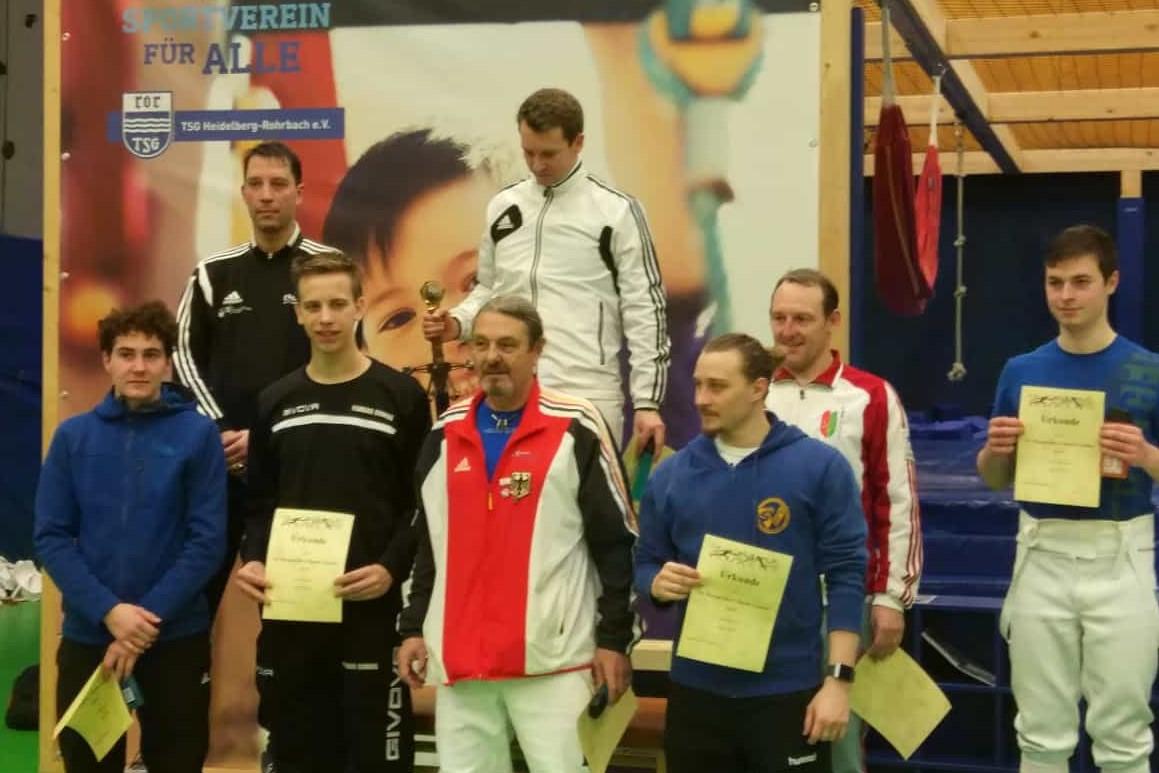 Heidelberg Fechten MUT Sieger 2019