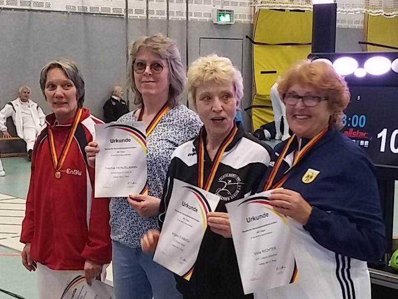 Heidelberg Fechten zwei Medaillen