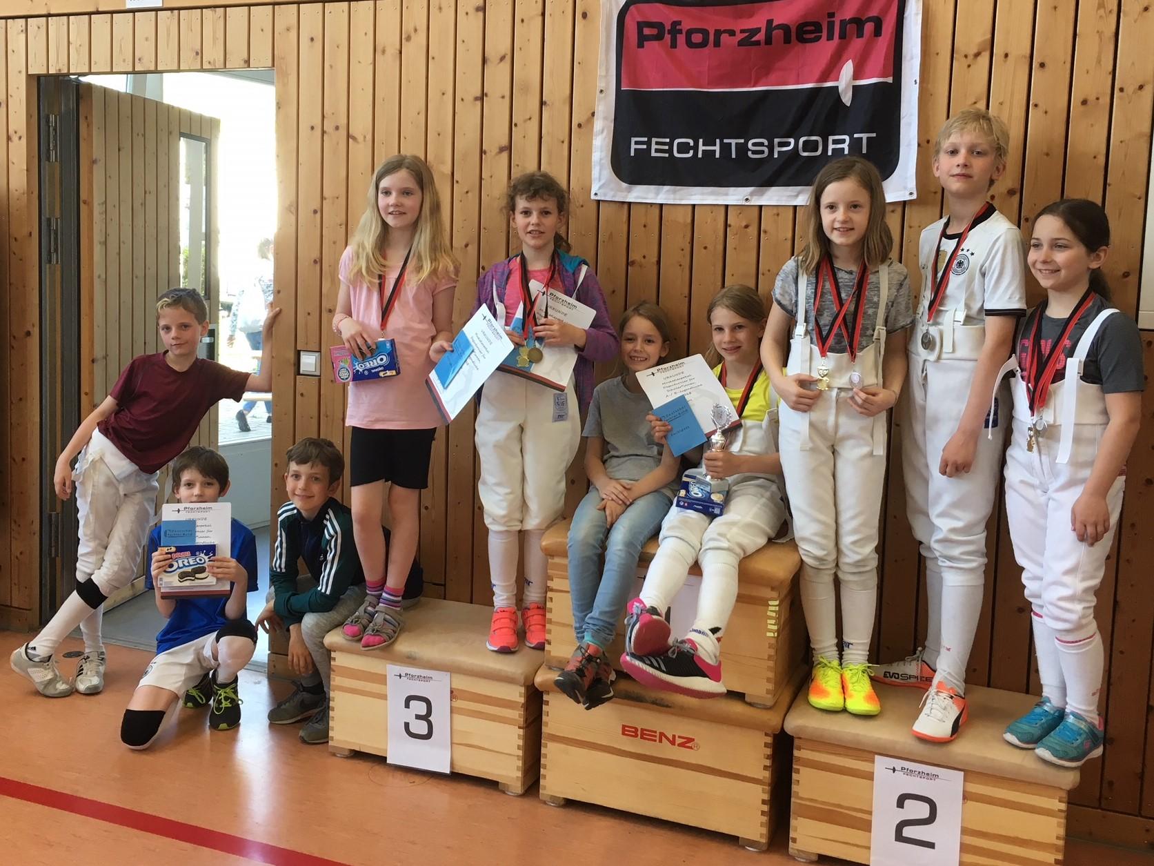 Heidelberg Fechten HFC/TSG Sieger Musketier-Pokal