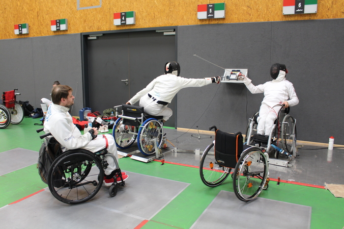 Heidelberg Fechten - Rollstuhl